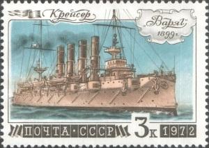 На воду спущен крейсер «Варяг»