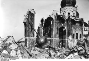 В Киево-Печерской лавре взорван Успенский собор