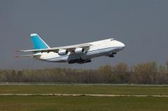 Совершил первый полет самолет Ан-124 «Руслан»