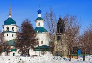 В Иркутске состоялось торжественное открытие памятника адмиралу Колчаку