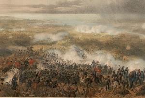 Произошло Инкерманское сражение во время Крымской войны (1853-1856)