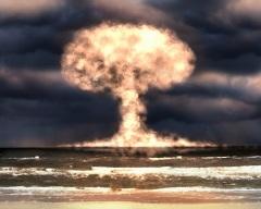 США произвели взрыв водородной бомбы на атолле Бикини