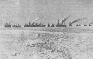 Начался Ледовый поход Балтийского флота