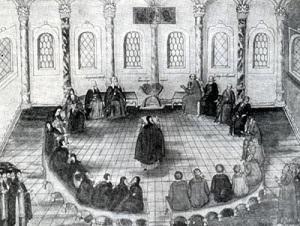 Земский собор избрал царем Михаила Федоровича Романова