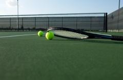 Запатентован корт для игры в большой теннис