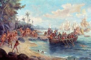 Экспедиция Кабрала отправилась в Индию, по пути открыв земли Бразилии