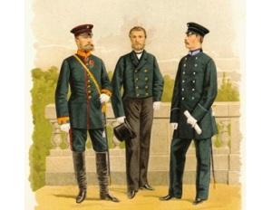 Николай I утвердил «Положение о гражданских мундирах»