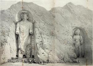 В Афганистане были уничтожены две колоссальные каменные статуи Будды