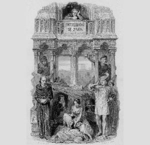Увидел свет роман Гюго «Собор Парижской Богоматери»