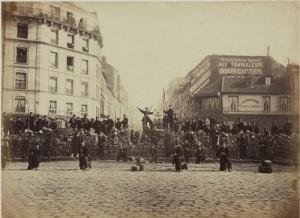 Во Франции провозглашена Парижская коммуна