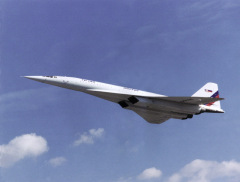 Испытательный полет совершил первый в мире сверхзвуковой пассажирский самолет Ту-144