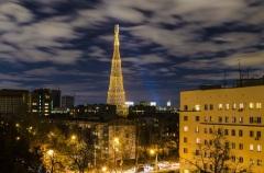 В Москве на Шаболовке сдана в эксплуатацию радиопередающая башня