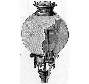 Павел Яблочков получил патент на изобретенную им «электрическую свечу»