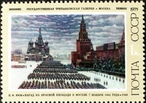 Состоялся парад советских войск на Красной площади в Москве