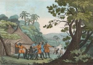 Начало печальной истории рабства внутри Африки