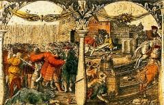 Произошло событие, вошедшее в историю как «Стокгольмская кровавая баня»