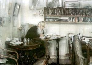 Лев Толстой начал работу над романом «Анна Каренина»