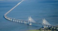 В Лиссабоне открыт самый длинный европейский мост