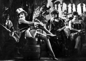 После премьеры фильма «Голубой ангел» взошла звезда Марлен Дитрих