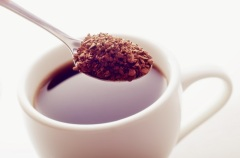 Положено начало широкому распространению растворимого кофе