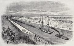 Суэцкий канал открыт для судоходства