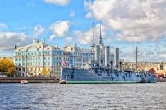 В Санкт-Петербурге поставлен на вечную стоянку крейсер «Аврора»