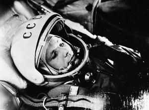 Впервые человек совершил полет в космос