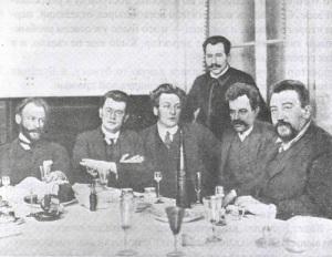 Вышел первый номер юмористического еженедельника «Сатирикон»