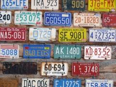 В США официально введены автомобильные номера