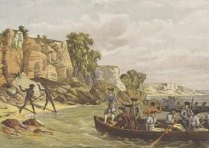 Джеймс Кук высадился на восточном побережье Австралии в удобной и безопасной бухте