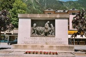 В Альпах закончено строительство железнодорожного туннеля Gotthard, соединяющего Италию со Швейцарией