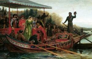 В Москву из Рима прибыла Зоя Палеолог
