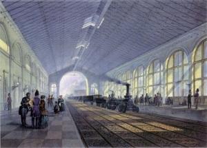 Введена в эксплуатацию Николаевская железная дорога