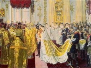 Состоялось бракосочетание Николая II с принцессой Гессен-Дармштадтской