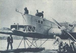 Состоялся первый испытательный полет самолета «АНТ-4» конструкции Туполева