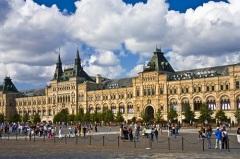 В Москве объявлен конкурс на лучший проект здания торговых рядов на Красной площади (сегодня – ГУМ)