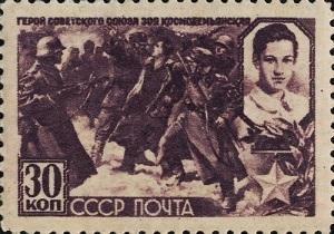Фашисты казнили партизанку Зою Космодемьянскую