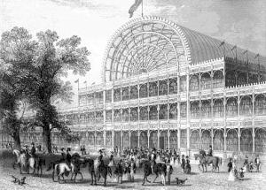 В Лондоне сгорел Хрустальный дворец