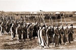 На Ходынском поле состоялся первый военный парад Красной Армии