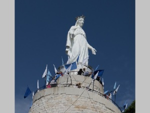 В 25 км от Бейрута открыта огромная скульптура Девы Марии