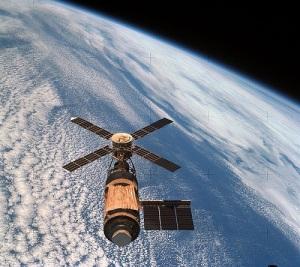 Состоялся вывод на орбиту первой американской орбитальной станции