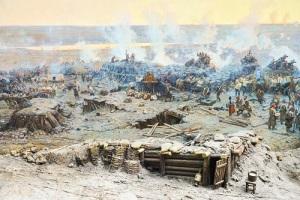 Состоялось открытие панорамы, созданной к 50-летию обороны Севастополя
