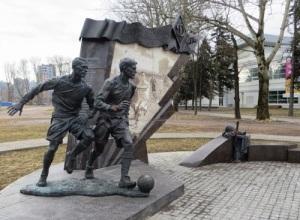 В блокадном Ленинграде на стадионе «Динамо» прошел футбольный матч