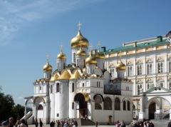 В Московском Кремле заложен Благовещенский собор