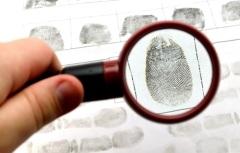 Отпечатки пальцев впервые использованы в криминалистике
