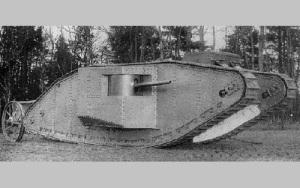 Произошла первая в истории мировых войн танковая атака