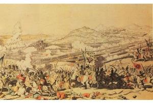 Победа русско-австрийских войск над турецкой армией в битве при Рымнике
