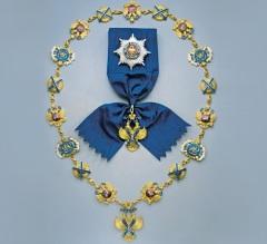 Вручена высшая награда России — Орден Святого апостола Андрея Первозванного под номером один