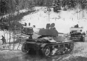 Началась советско-финская война («зимняя война»)