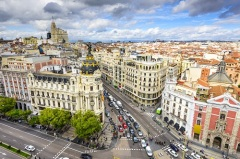 Официально объявлено о переносе столицы Испании из Вальядолида в Мадрид
